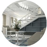 photo of a home interior