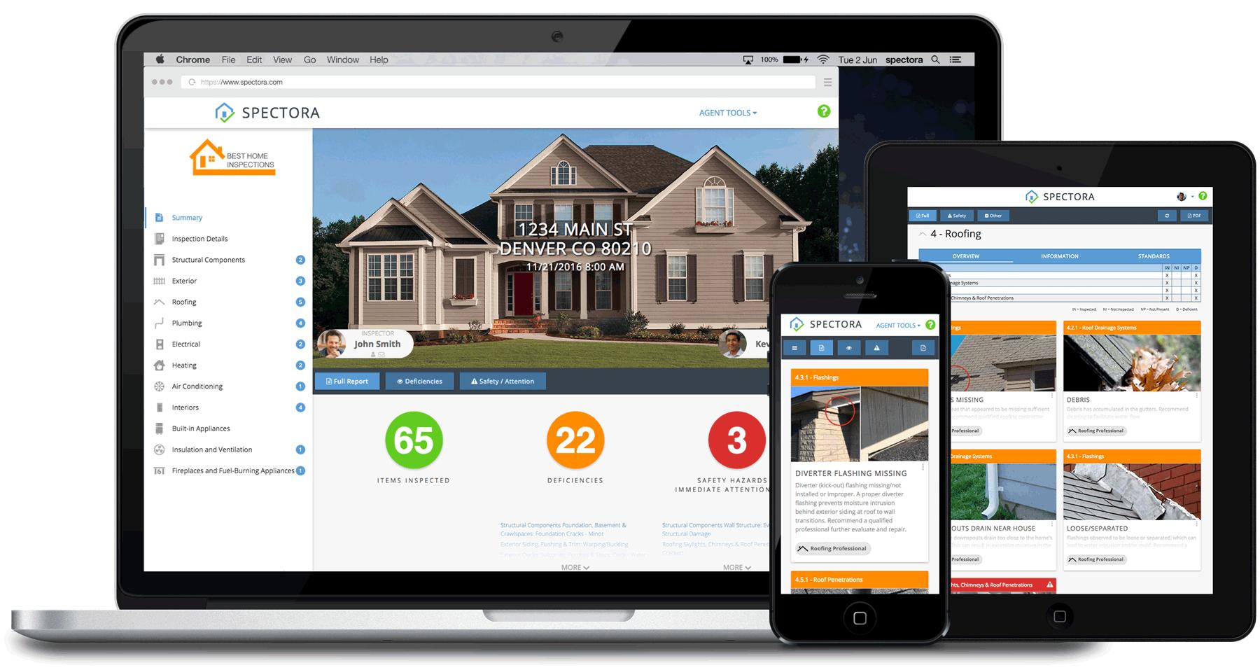 Smarter Home Inspections Spectora Sample Report