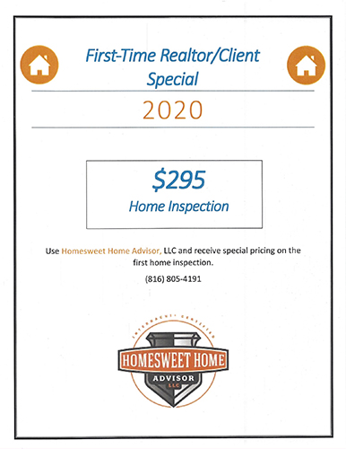 First Time Client Realtor SPECIAL