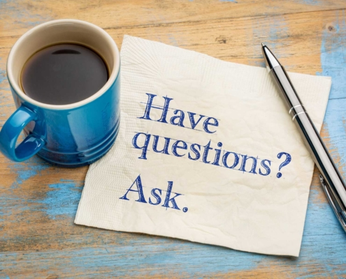 Have questions? Ask away!